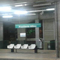 Photo taken at Estação Presidente Altino (CPTM) by Ana Carolina S. on 7/9/2012