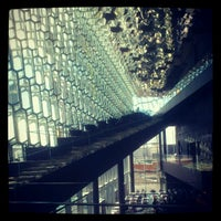 Photo taken at Harpa by Tansu I. on 6/17/2012