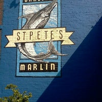 Photo taken at St. Pete's Dancing Marlin by Katrina T. on 2/19/2012