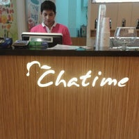 Photo taken at Chatime by Dewi W. on 7/25/2012