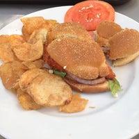 Photo taken at Nourish Cafe by Tara P. on 8/29/2012