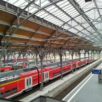 Photo taken at Lübeck Hauptbahnhof by Markus1803 on 9/1/2011