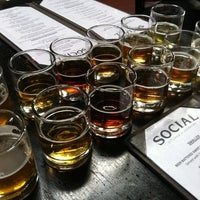 Photo taken at Social Kitchen & Brewery by Michaela S. on 7/18/2011