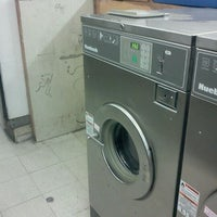 Photo taken at Tom's Laundromat by Doug S. on 2/2/2012