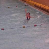 Photo taken at Tesoriere Swimming Pool by Chris F. on 11/15/2011