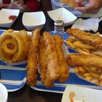 Photo taken at Harbor Fish and Chips by Jamee A. on 7/29/2012