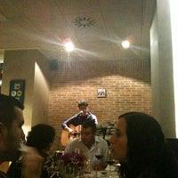 Photo taken at Café Dacapo by Lorena B. on 10/20/2011