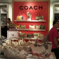Photo taken at Coach Factory Outlet by Cattareya S. on 6/12/2012