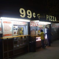 Photo taken at 99¢ Fresh Pizza by Ian T. on 4/4/2012