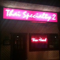 Photo taken at Thai Specialty 2 by Nick B. on 1/11/2011