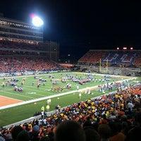 Photo taken at Memorial Stadium by Adam N. on 9/18/2011