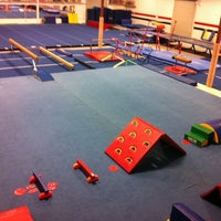 Photo taken at Alamo Heights Gymnastics Academy by Jenny M. on 7/31/2011
