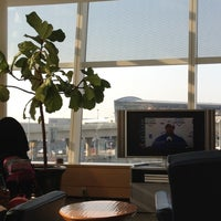 Photo taken at Air France Lounge by Jini S. on 6/29/2012