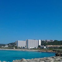 Photo taken at Platja de Son Bou by Doru on 5/29/2012