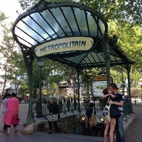 Photo taken at Place des Abbesses by Toshihide K. on 8/10/2012