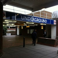 Photo taken at Heathrow Airport Terminals 1, 2 & 3 London Underground Station by sinister p. on 1/25/2012