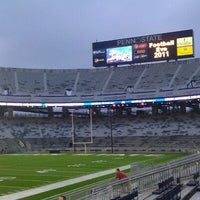 Photo taken at Beaver Stadium by Alyssa M. on 9/2/2011