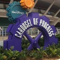 Photo taken at Walt Disney's Carousel of Progress by Jeremy K. on 4/20/2012