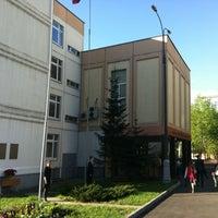 Photo taken at Гимназия № 1530 «Школа Ломоносова» by Nikita M. on 5/4/2012