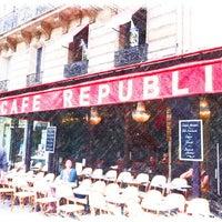 Photo taken at Café République by Nicolas L. on 7/5/2012