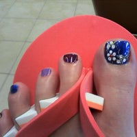 Photo taken at Town Center Nails by Jenni O. on 7/6/2012