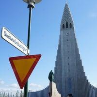 Photo taken at Church of Hallgrímur by John Y. on 8/18/2012