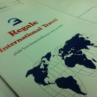 Photo taken at Regale International Travel by Thoranin T. on 3/8/2012