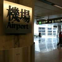Photo taken at MTR Airport Station by Miranda Y. on 1/2/2011