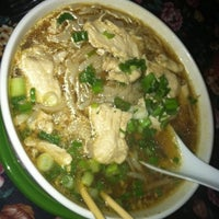 Photo taken at Thai Chef and Noodle Fusion by Laura Ann M. on 12/30/2011