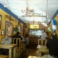 Photo taken at Los Pioneros Taqueria Mexicana by Jeanette Yvonne M. on 1/25/2012