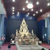 Photo taken at Buddhist Center of Dallas by Supote M. on 7/8/2012