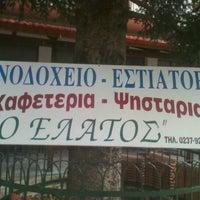 """Photo taken at Hotel """"Ο Ελατος"""" by pan t. on 11/30/2011"""