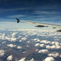 Photo taken at US Airways Flight 1932. RSW - PHL at 36000' by Clarissa M. on 1/12/2012