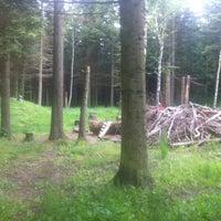 Photo taken at Naturlegepladsen Vestskoven by Tue B. on 6/10/2012