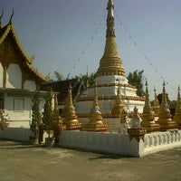 Photo taken at Wat Mueang Lang by Aomsiin R. on 1/8/2012