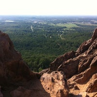 Photo taken at Crowders Mountain State Park by Scott M. on 8/22/2011