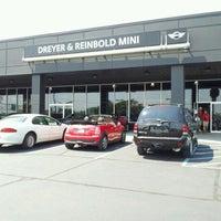 Photo taken at Dreyer & Reinbold MINI by Mark W. on 8/25/2012