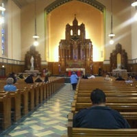 Photo taken at Queen of Angels Parish by Nick A. on 4/1/2012
