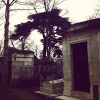 Photo taken at Père Lachaise Cemetery by Johanna M. on 11/27/2011