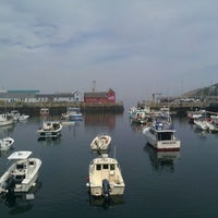 Photo taken at Rockport Harbor by Kay H. on 9/25/2011