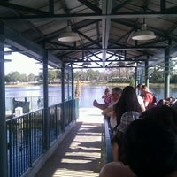 Photo taken at Friendship Boat Dock - Disney's Hollywood Studios by Benoit-André R. on 1/10/2012