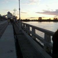 Photo taken at Sarasin Bridge by Ekaman on 1/2/2012