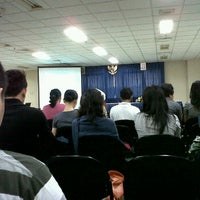 Photo taken at Hall / Auditorium BINUS University by Didik W. on 1/21/2012