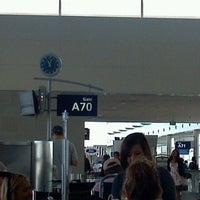 Photo taken at Gate A70 by Michael W. on 9/11/2011