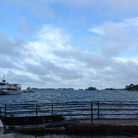 Photo taken at 松島湾遊覧船乗り場 by H J. on 9/4/2012