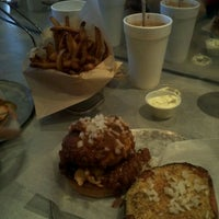 Photo taken at The Burger Guys by Anthony D. on 11/5/2011