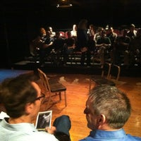Photo taken at Main Stage at The Adrienne Theatre by Diligent on 4/21/2012