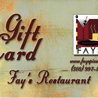 Photo taken at Fay's Restaurant by Fay's Restaurant on 12/16/2011