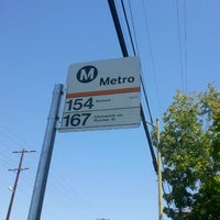 Photo taken at Metro 154 / 167 by Lara S. on 9/12/2011