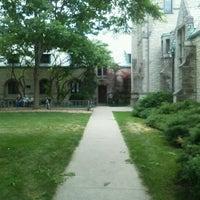 Photo taken at Seabury Western Theological Seminary by Chris G. on 6/16/2012